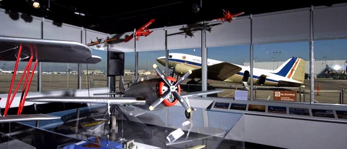 Biplanes at Flight Path Learning Center