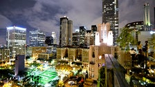 Pershing Square viewed from Perch