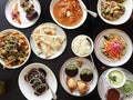Indian dishes at Badmaash in Downtown L.A.