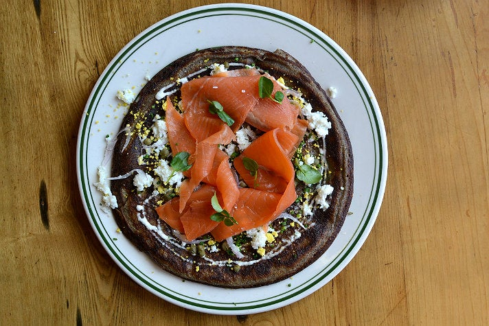House-smoked salmon at Connie & Ted's