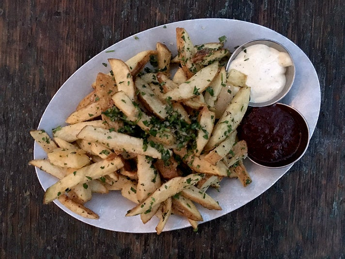 French fries at Gjusta